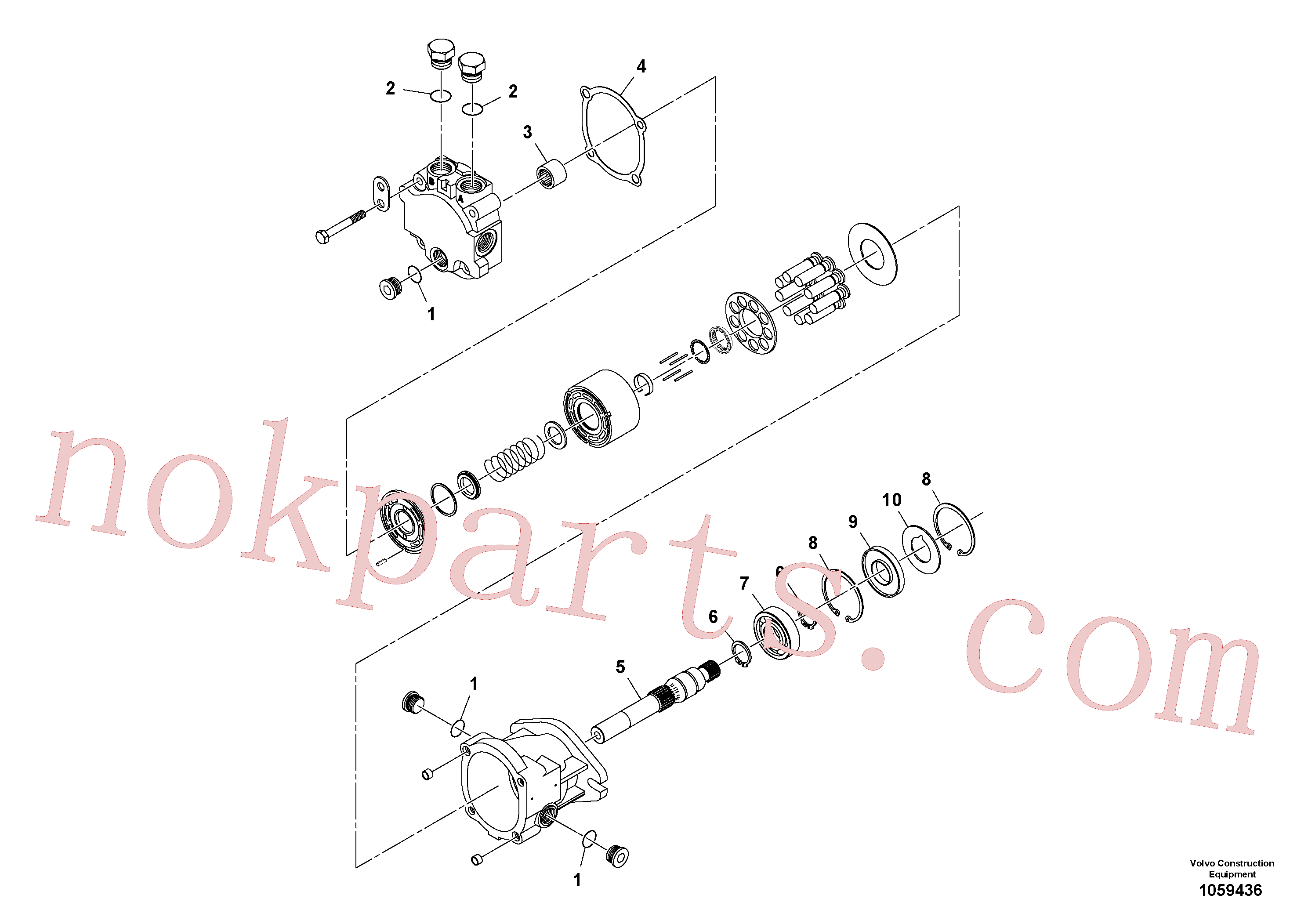 RM59785519 for Volvo Vibration Motor(1059436 assembly)