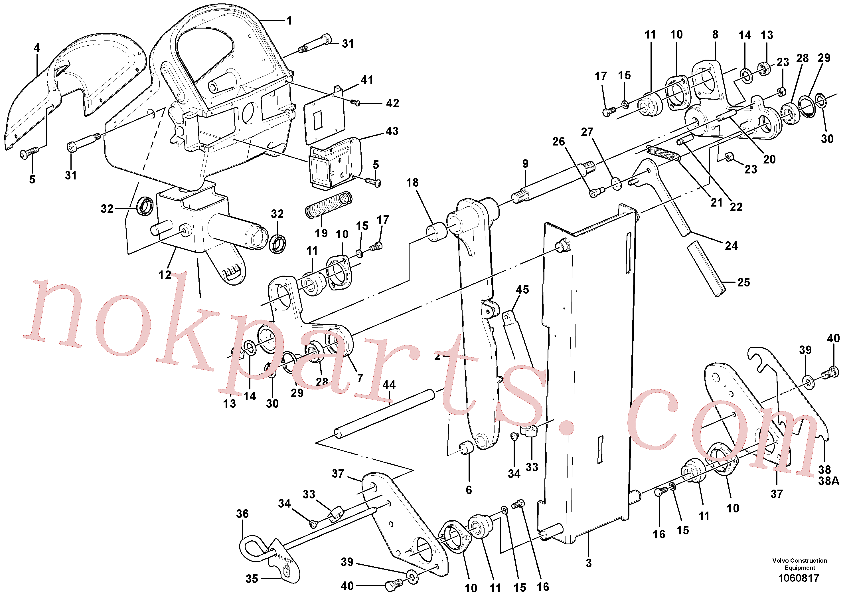 PJ4630024 for Volvo Control head assembly(1060817 assembly)