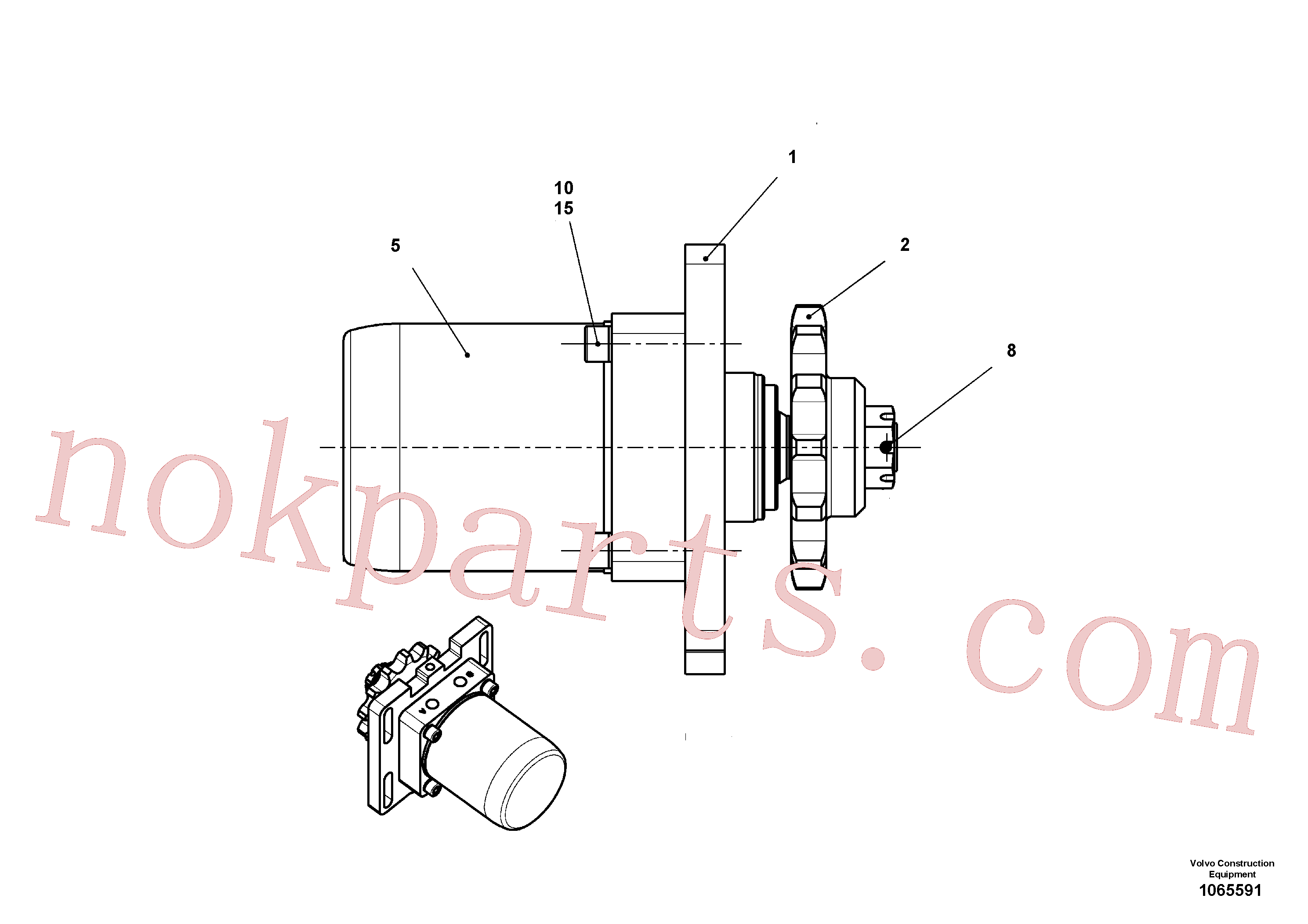 RM14201800 for Volvo Drive(1065591 assembly)