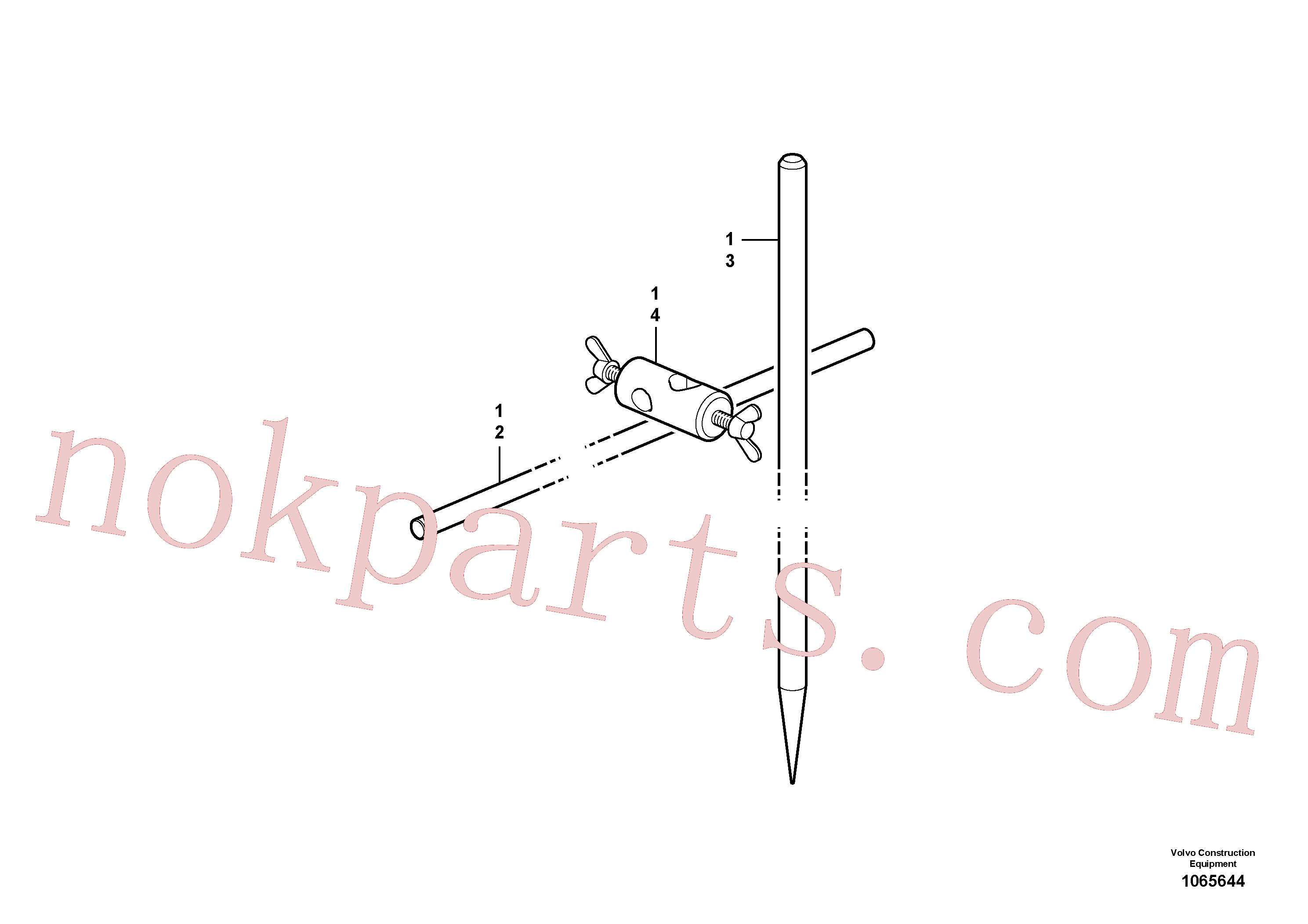 RM54427570 for Volvo Parts for set-up of paving actuation(1065644 assembly)