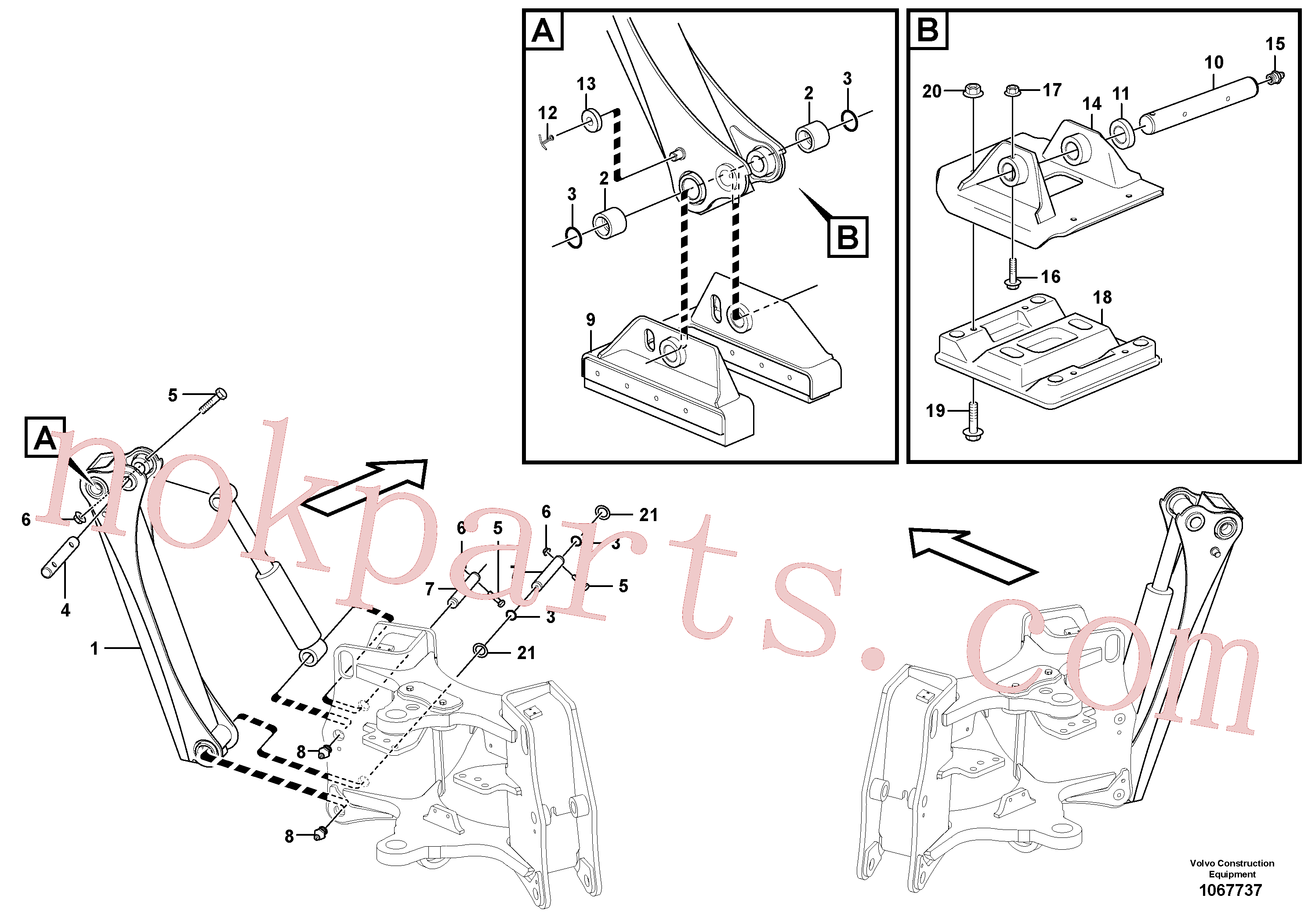 RM14085005 for Volvo Stabilisers(1067737 assembly)