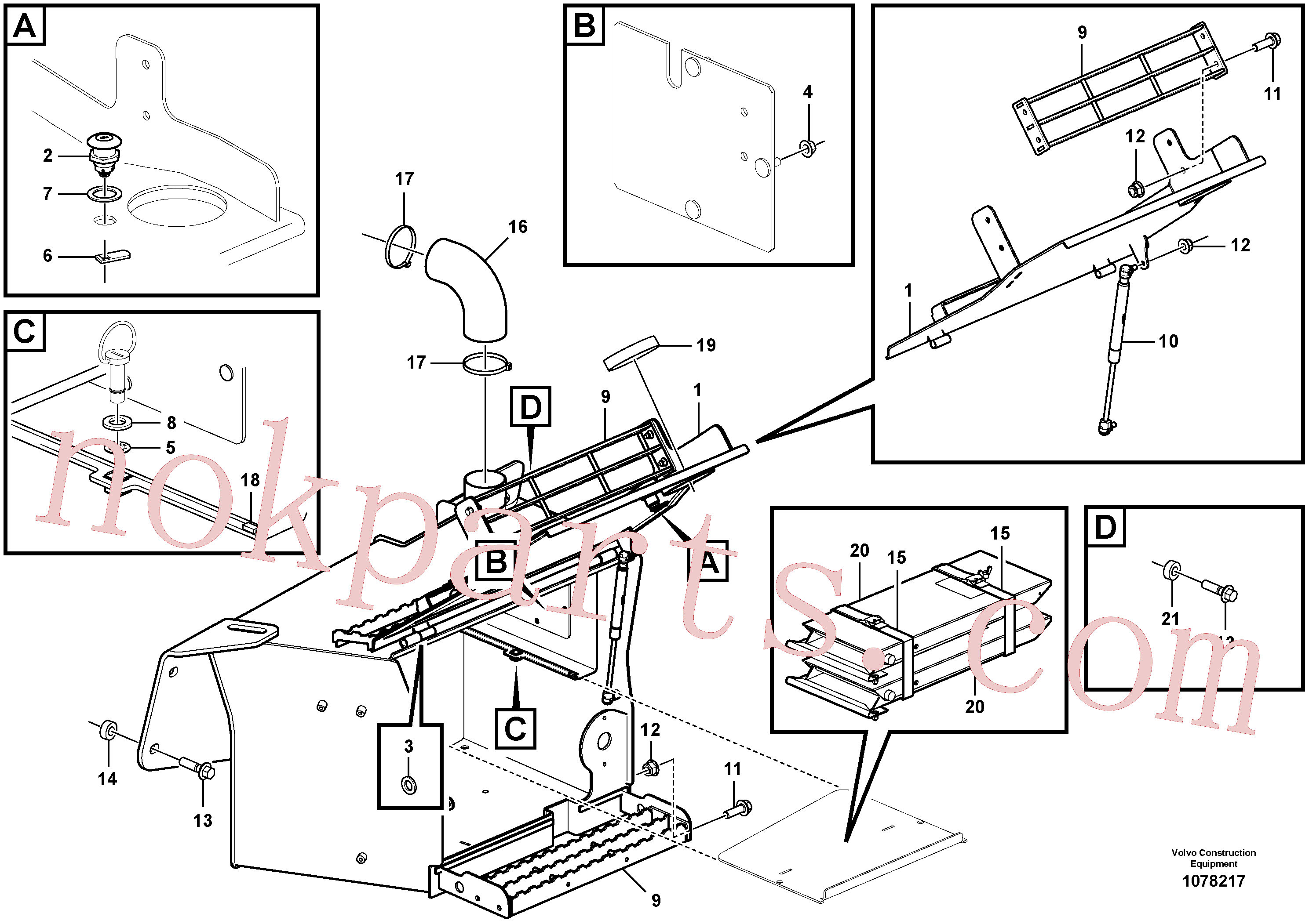 VOE12787930 for Volvo Toolbox(1078217 assembly)