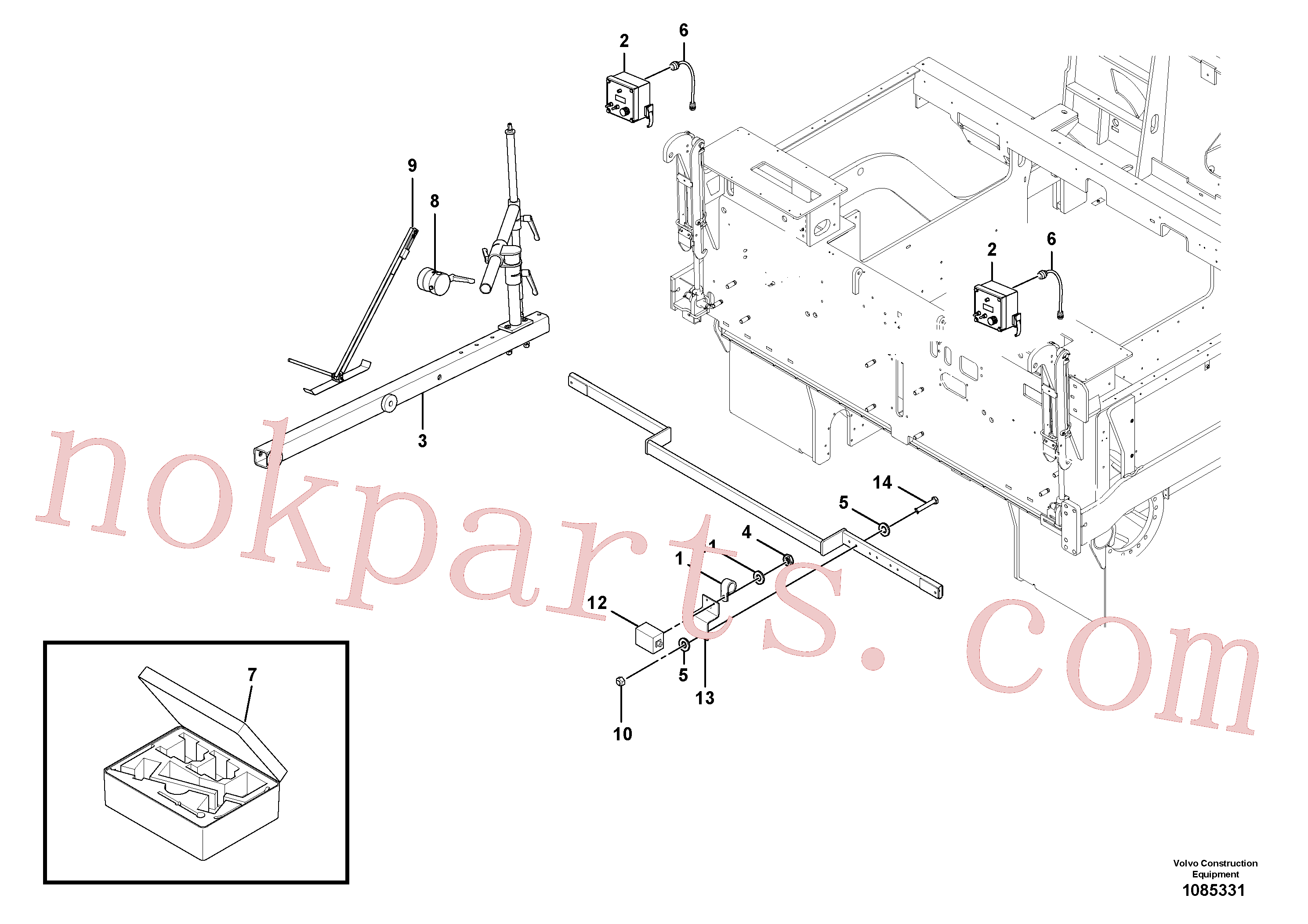 RM13427307 for Volvo Blaw Kontrol Installation(1085331 assembly)