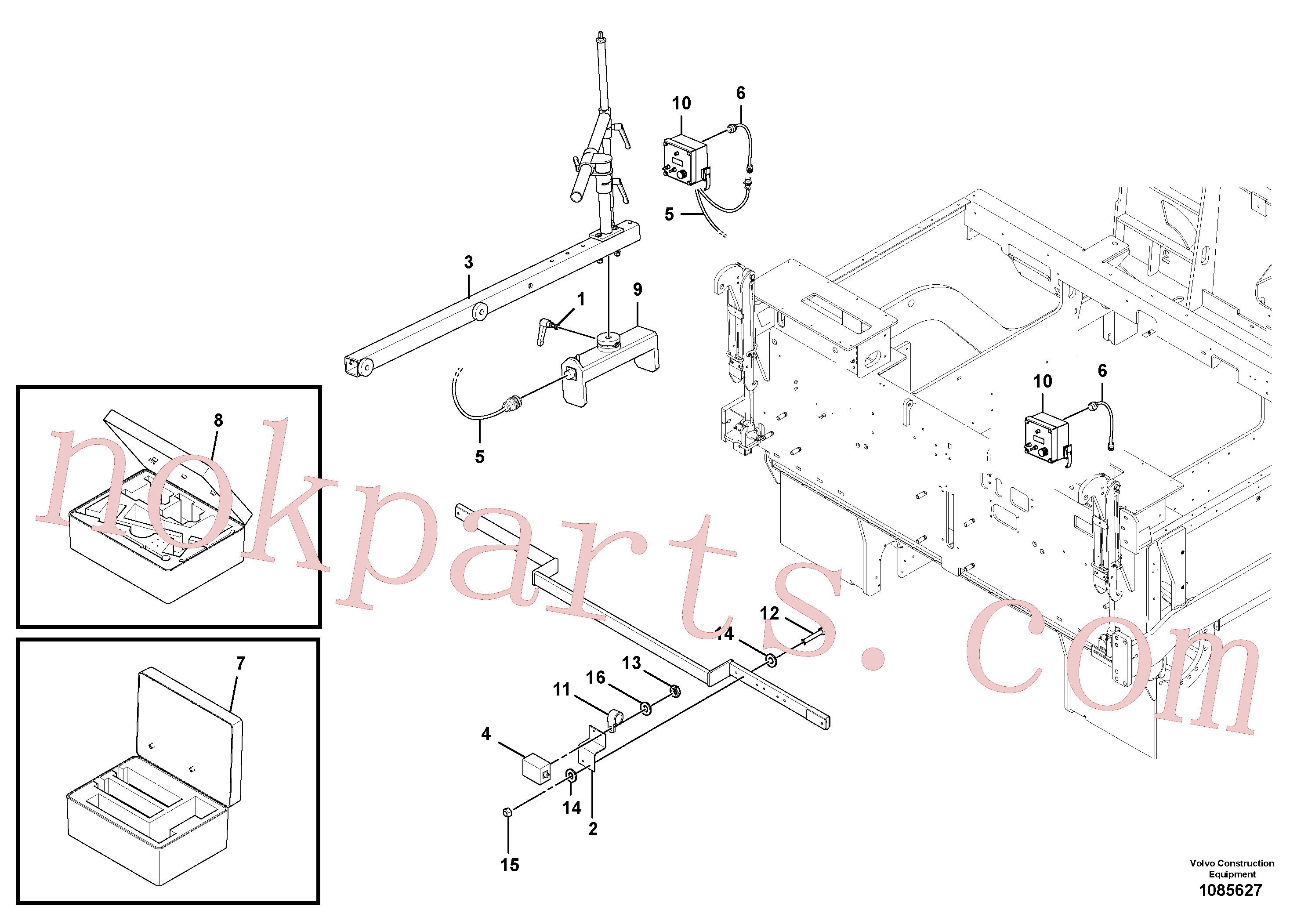 RM13427307 for Volvo Blaw Kontrol Installation(1085627 assembly)