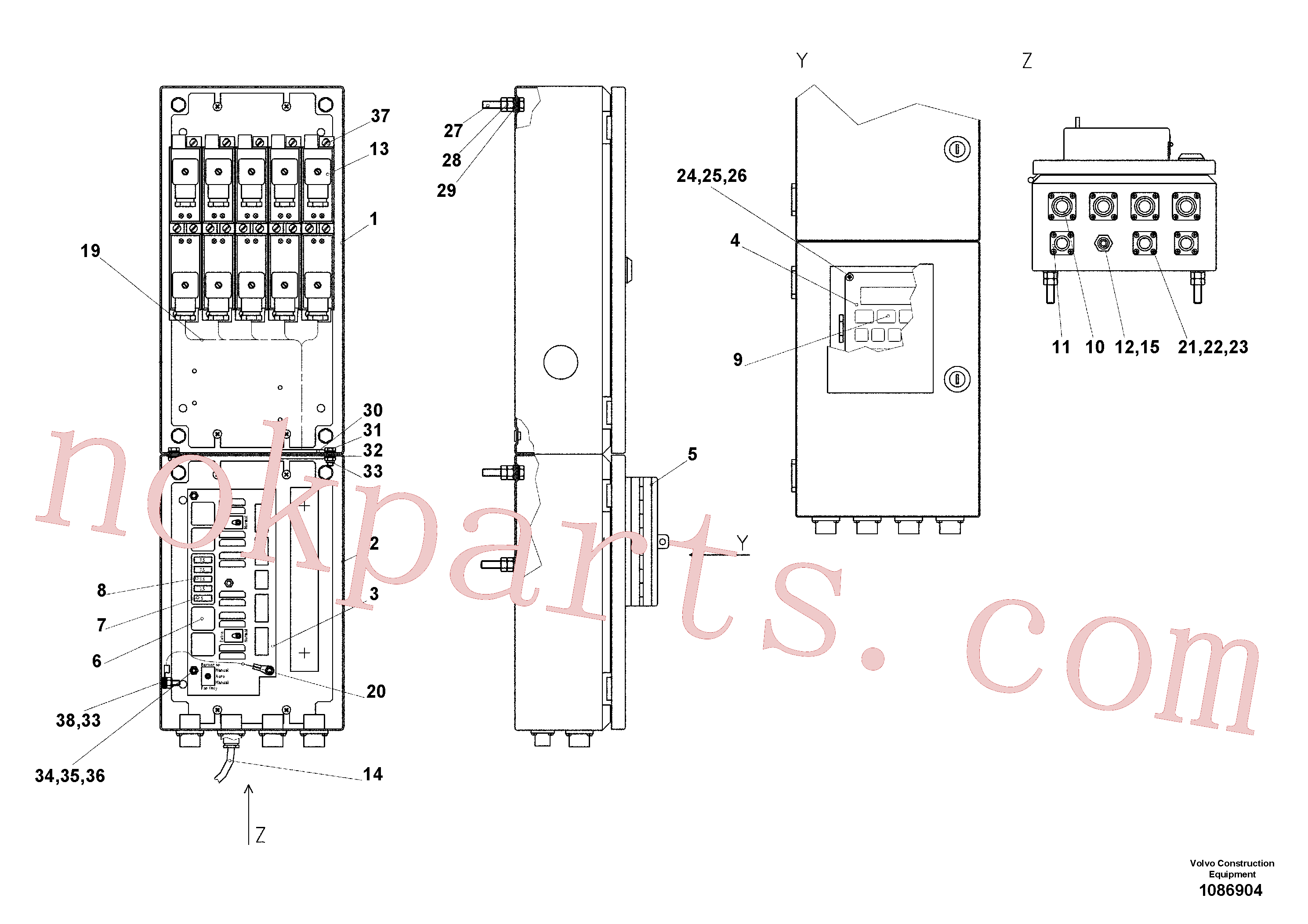 RM14082614 for Volvo Thermo control(1086904 assembly)