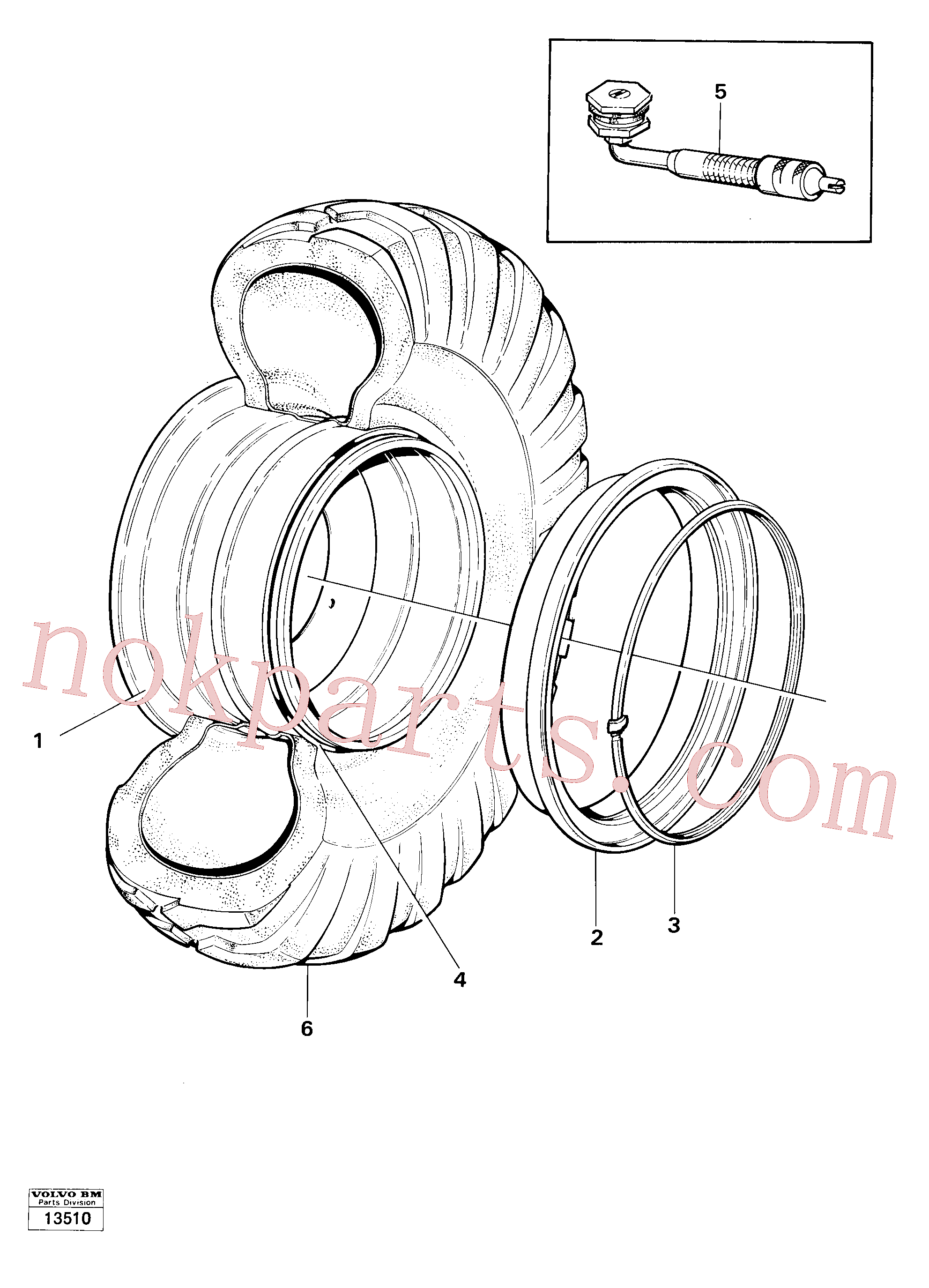 VOE4781750 for Volvo Wheel, Wheels(13510 assembly)