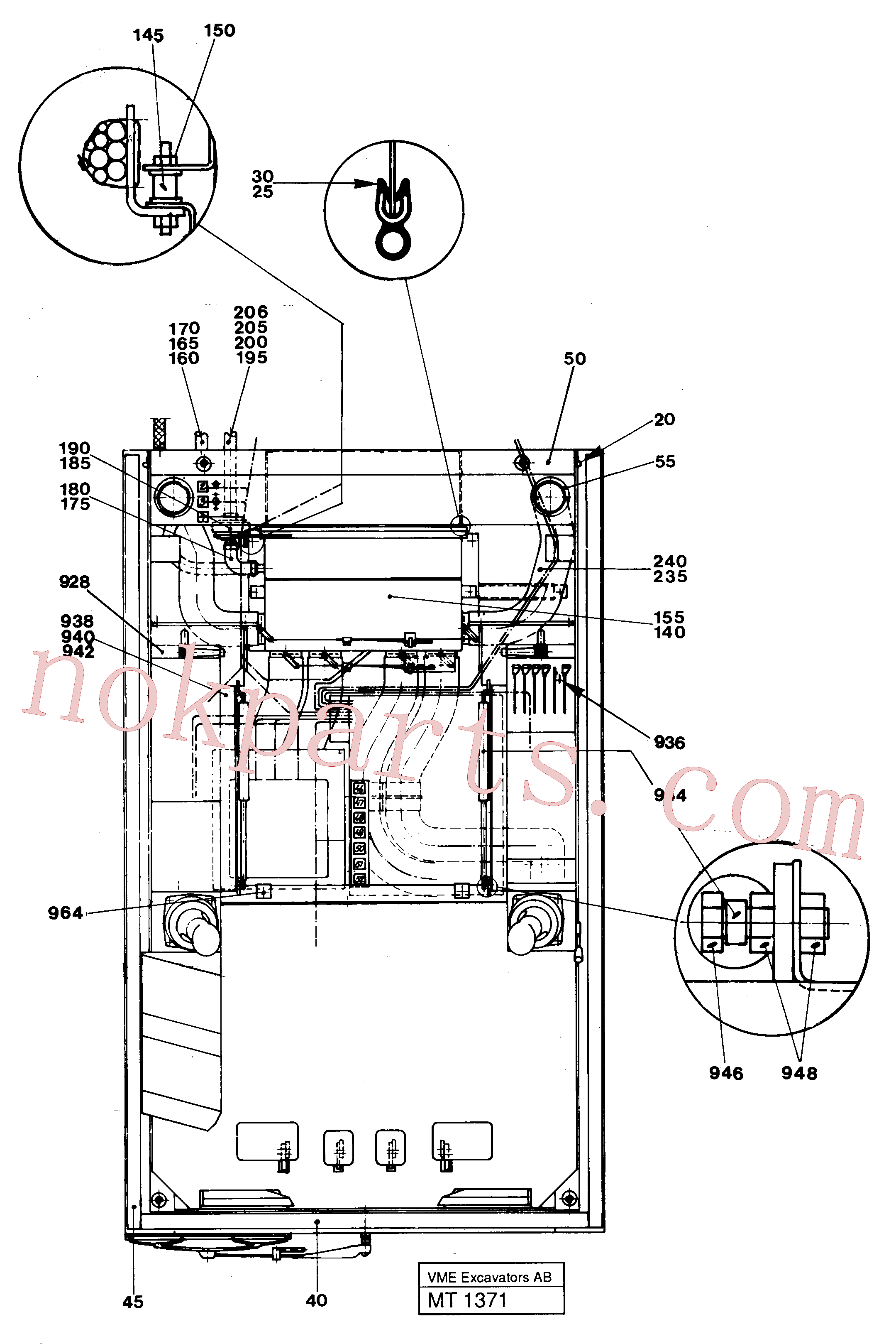 VOE14245580 for Volvo Driver's seat(MT1371 assembly)