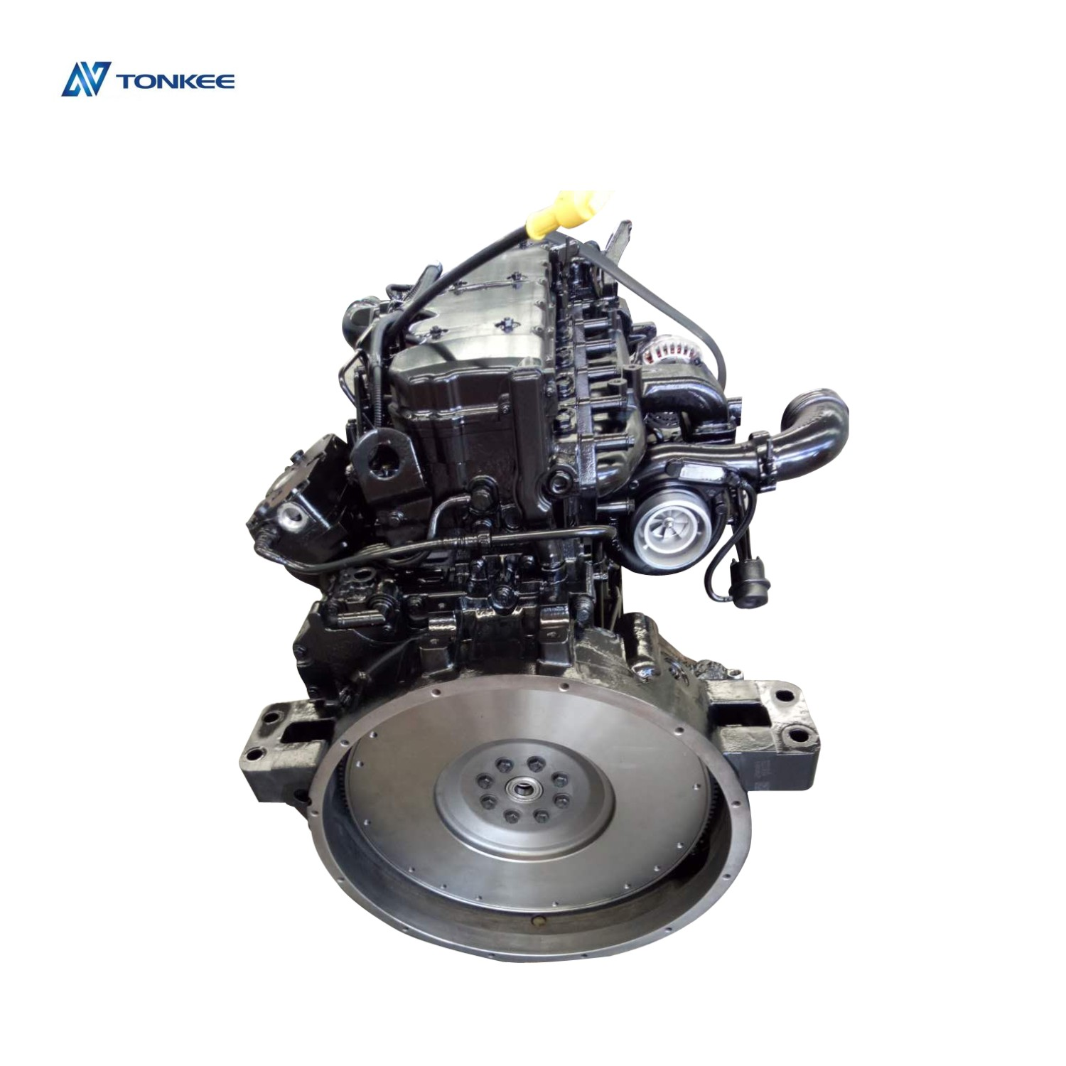 NEW QSB6.7 260hp 194kW new diesel engine assy excavator PC210-8 SAA6D107E-1 complete  engine assembly PC200-8 engine assy for KOMATSU