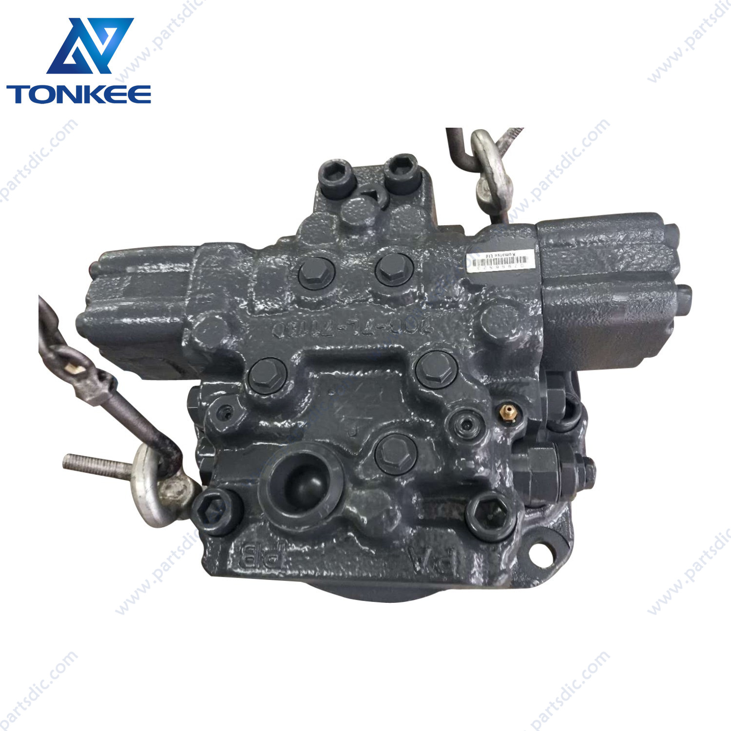 PC2000-8 hydraulic travel motor without final drive 706-7L-01110 travel motor assy excavator