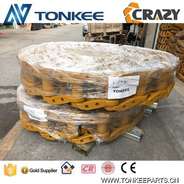 D455 track chain undercarriage track link parts track chain assy for dulldozer