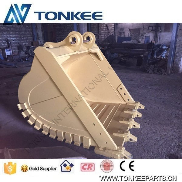 excavator construction machinery parts bucket drawing R450 ROCK bucket assy for hyundai